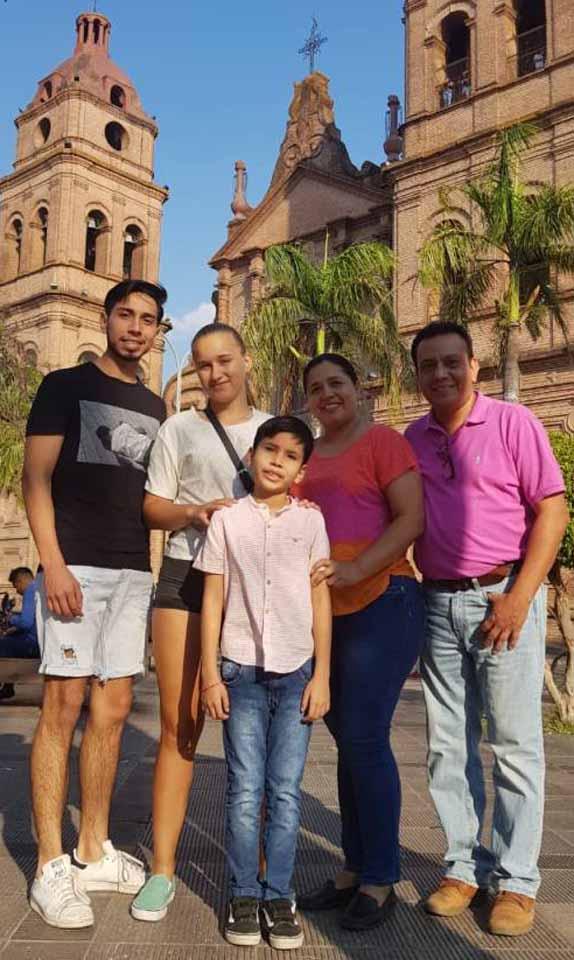 Na prechádzke s host rodinou