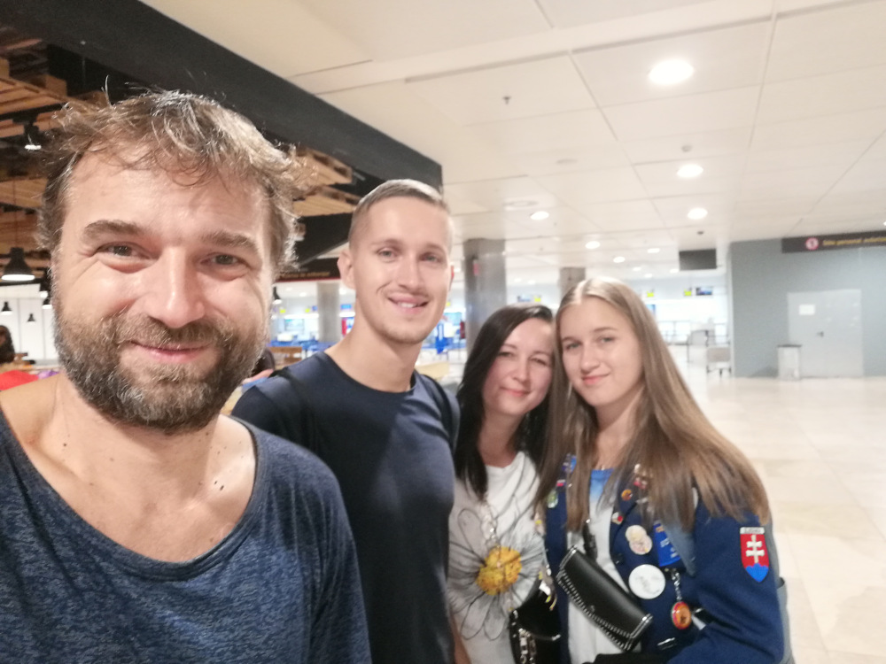 Posledná fotka s rodinou
