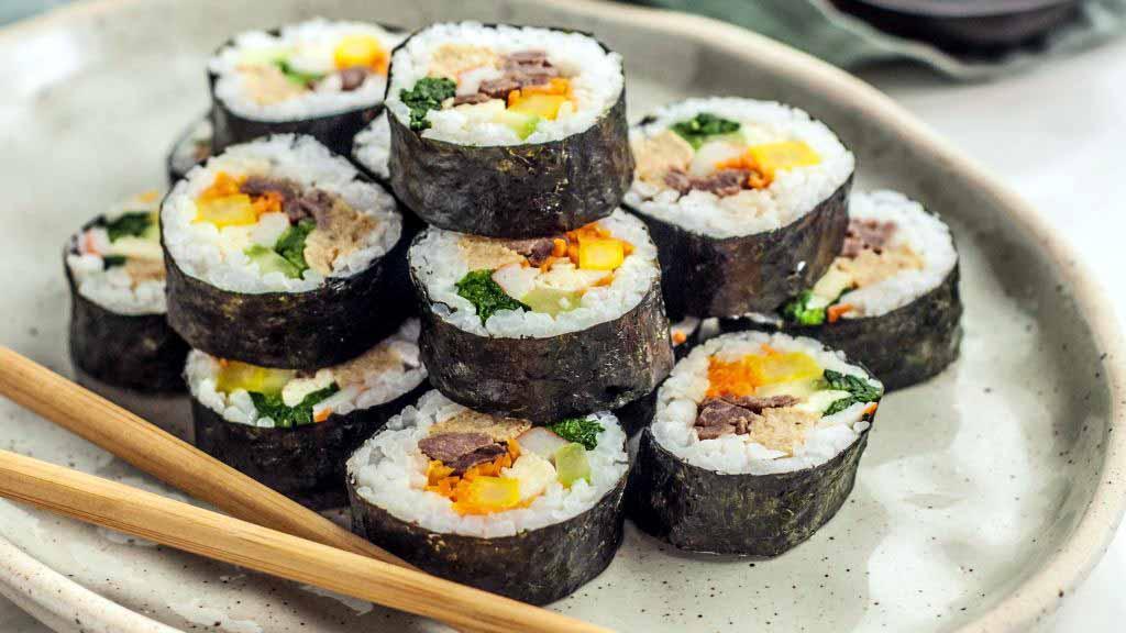 Kimbap, moje aktuálně nejoblíbenější jídlo