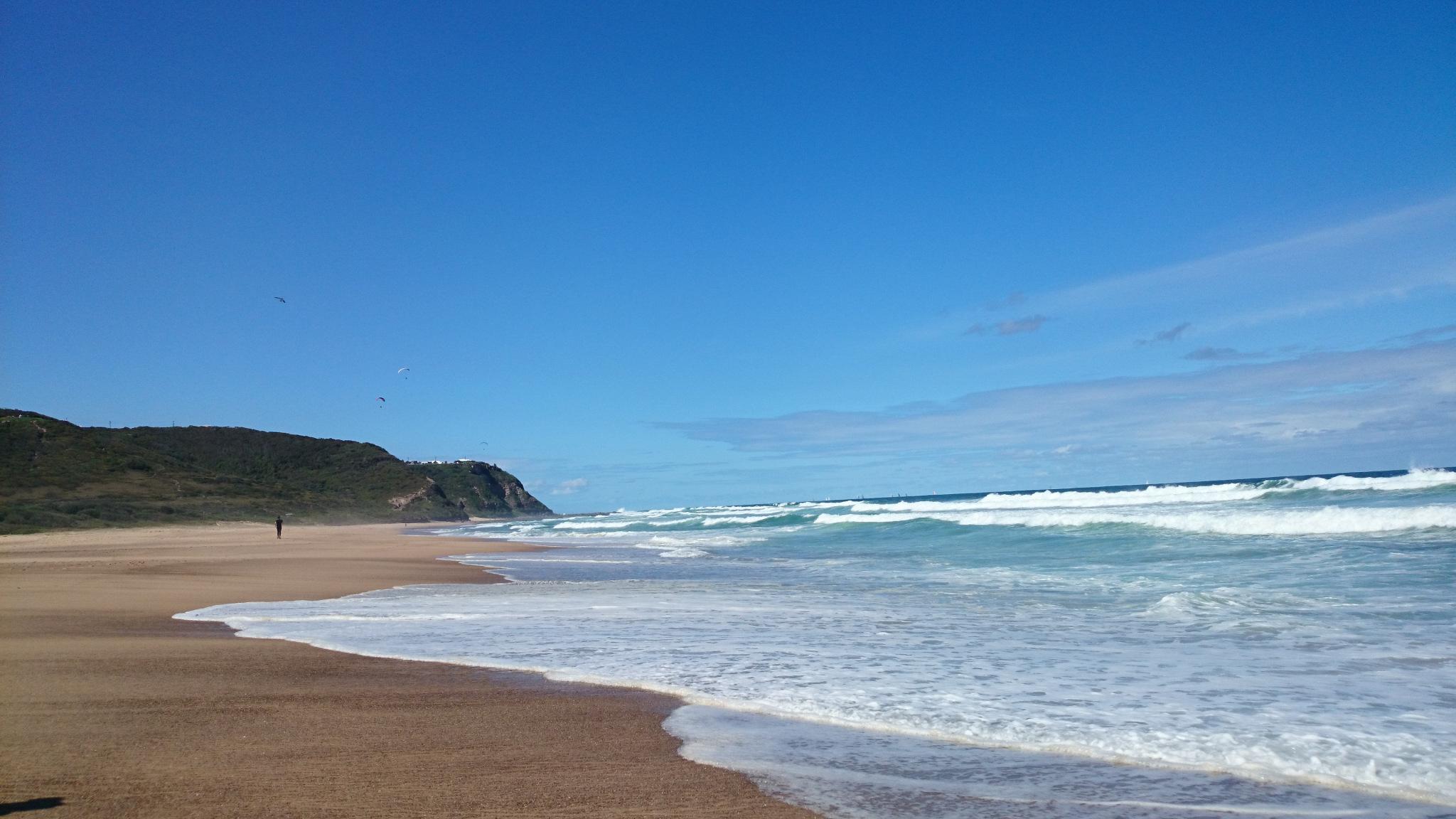 Australská pláž