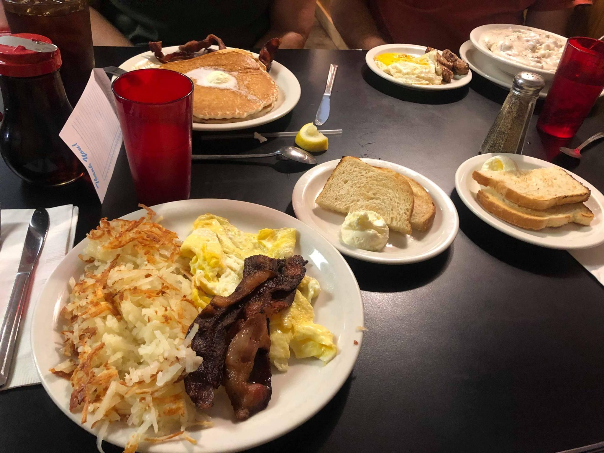 Rozlučková snídaně
