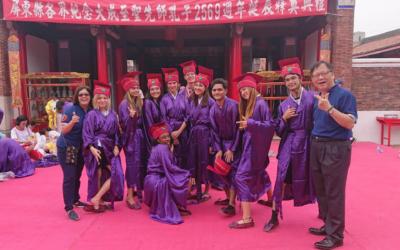 Po 12 letech v moři, Confuciova ceremonie a Rotary trip