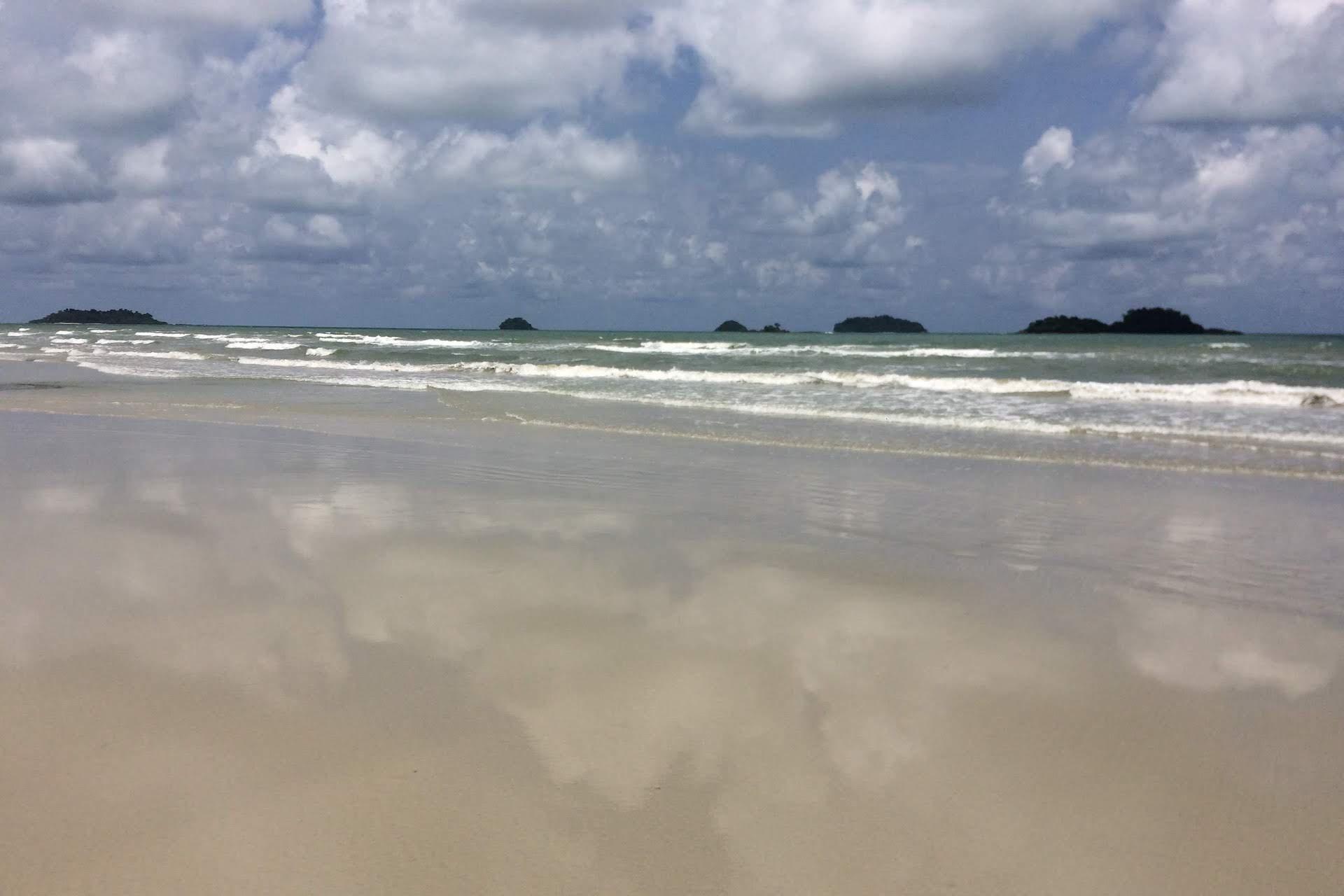 pláž na Koh Chang