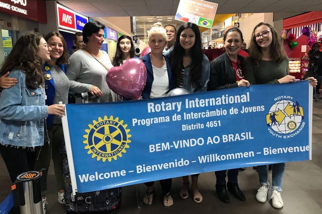 Přivítání v brazílii