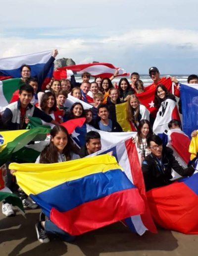Rodina výmenných študentov