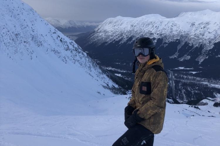 Ski resort na Aljaške