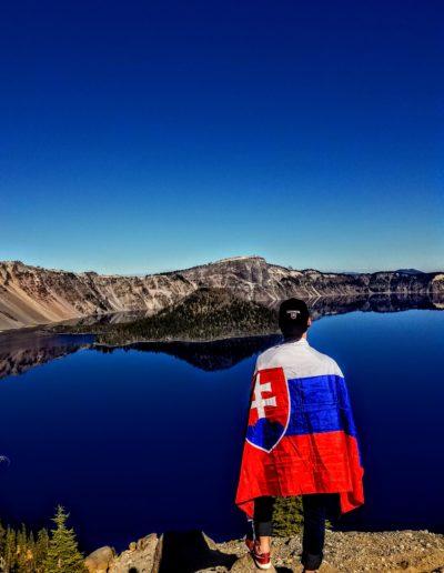Slovenská vlajka so mnou cestovala všade
