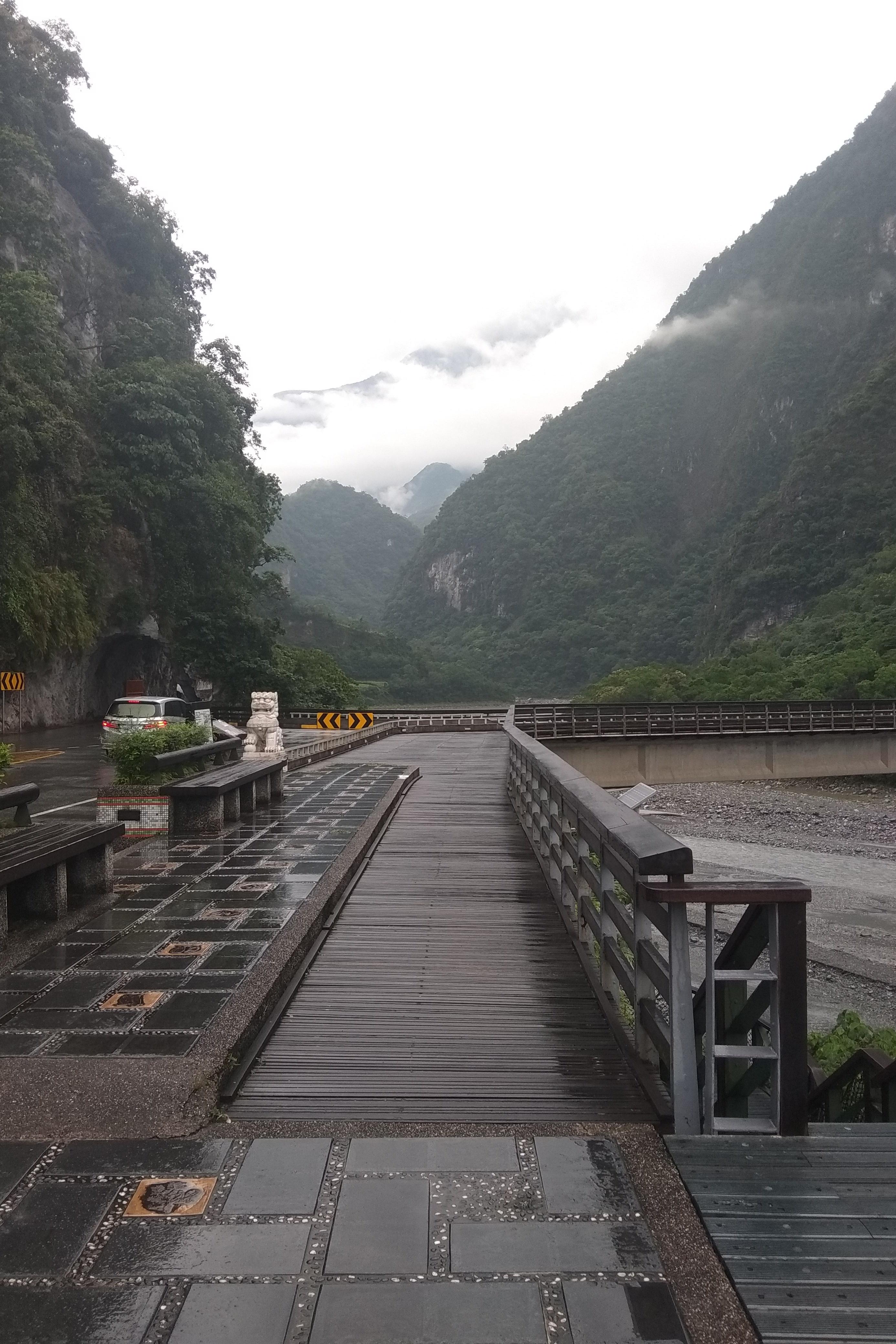 Taiwanské hory jsou naprosto úchvatné