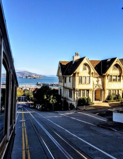Ulice San Francisca z cable car