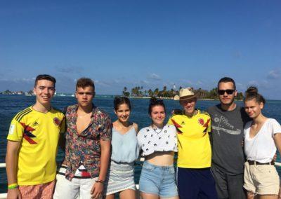 výlet do Karibiku