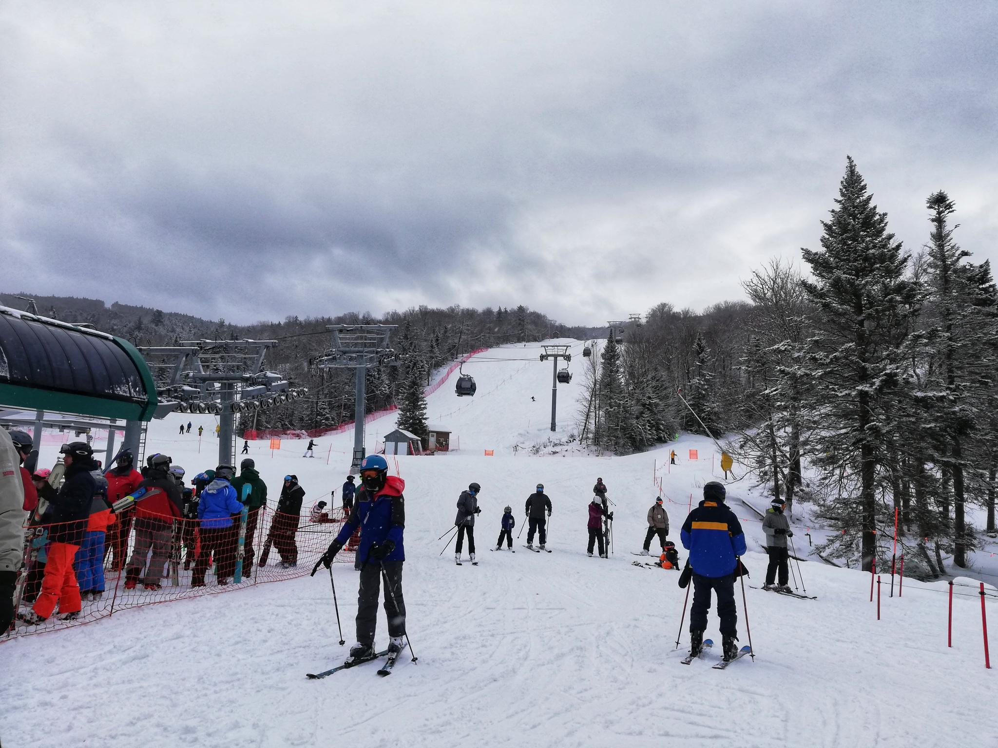 VIP lyžování