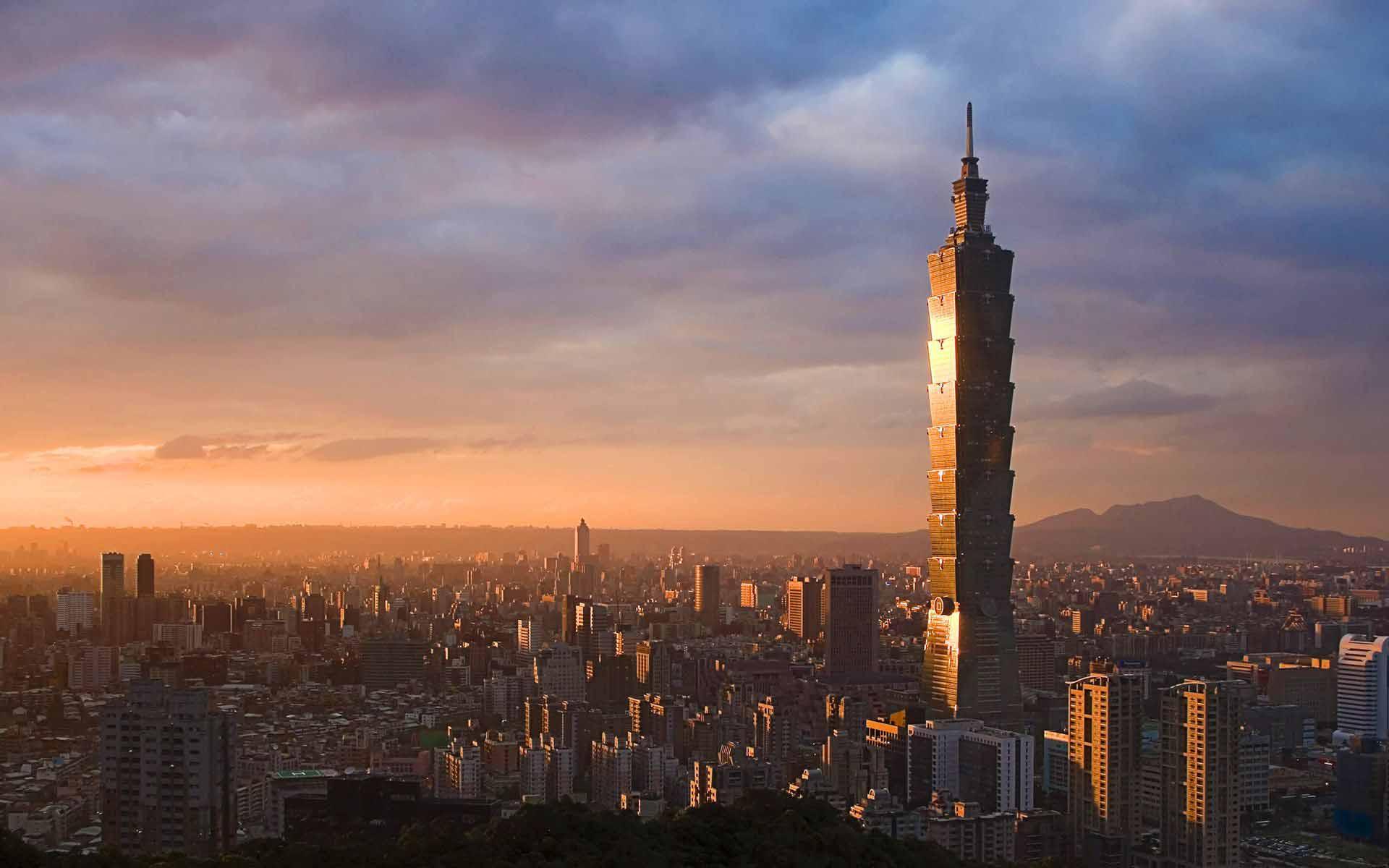 Taipei výhľad